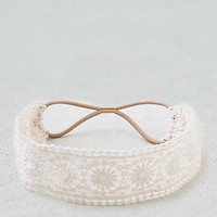 AEO Cream Lace Headband , Cream