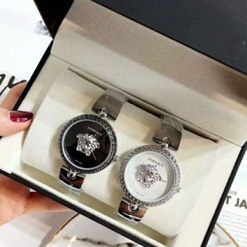 VERSACE Watch Ladies Men Fashion Quartz Movement