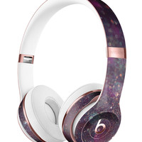 Purple and Pink Unfocused Glowing Light Orbs Full-Body Skin Kit for the Beats by Dre Solo 3 Wireless Headphones