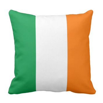 Irish Flag on American MoJo Pillow