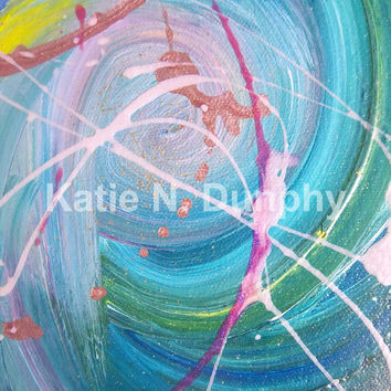 "8""x10"" Print of Original Painting by Katie N. Dunphy"