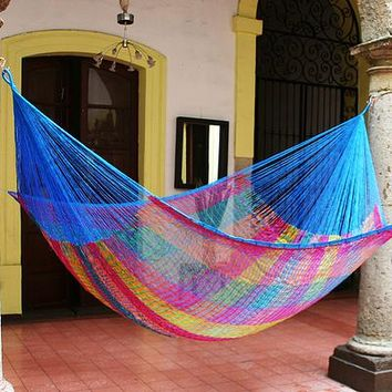 Hammock, 'Rainbow Seascape' (double)