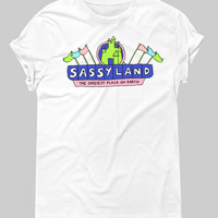 Sassy Land Graphic Tee