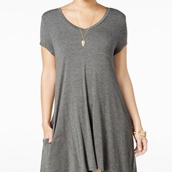 Trixxi Juniors' Strappy-Back T-Shirt Dress | macys.com