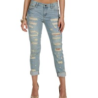 Lt. Denim Crash My Party Boyfriend Jeans