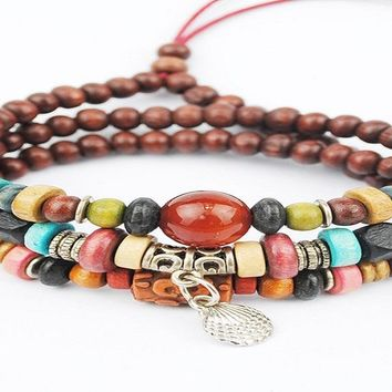 Multilayer Buddha Mens Bracelets