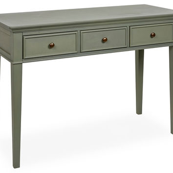 "Mia 45"" Console, Moss Green, Console Table"