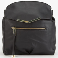 T-Shirt & Jeans Metal Trim Backpack Black One Size For Women 25150310001