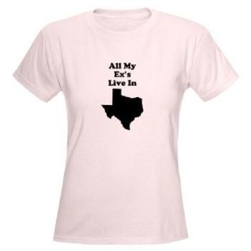All My Exs Live In Texas T-Shirt> All My Ex's Live in Texas> Twisted Twang