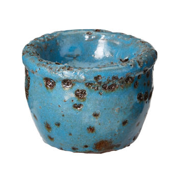 Rustic Ocean Tea Light Blue