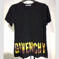 Givenchy Fashion print monogram blouse short sleeved T-shirt G-A-KSFZ