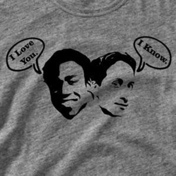 Funny Troy and Abed The Community Shirt - I Love You, I know - Womens Ladies Mens - Tee Shirt TShirt T Shirt Geek