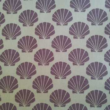 Quilting Cotton Fabric. Odyssea by Moda. Seashells.