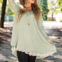 The Weekend Tunic, Sage
