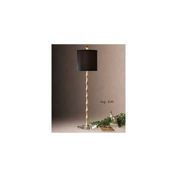 Uttermost Quindici 37'' H Buffet Table Lamp with Drum Shade