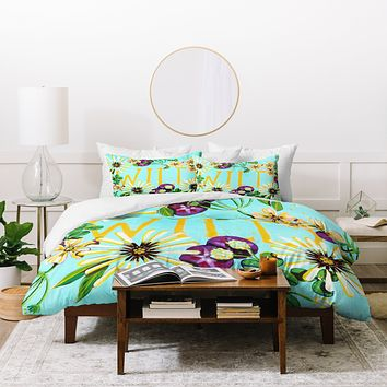 Land Of Lulu Wildflower Duvet Cover