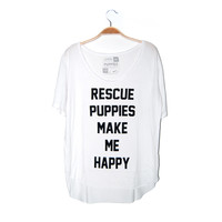 Rescue Puppies Title | Weekend Tee