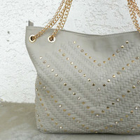 Sun & Shore Tote [5559] - $63.00 : Vintage Inspired Clothing & Affordable Dresses, deloom | Modern. Vintage. Crafted.
