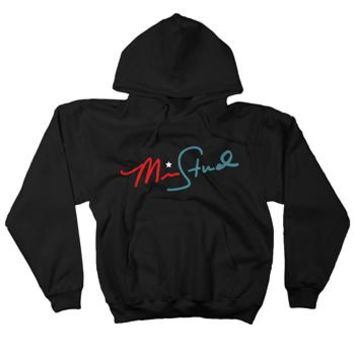 Signature Pullover on Black by Mike Stud