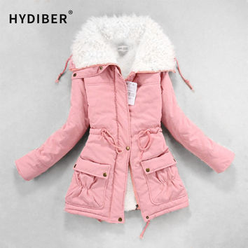 Winter Coat Women Slim Thick Hooded