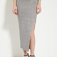 Heathered Maxi Skirt | Forever 21 - 2000182566