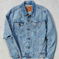 Levi's Destroyed Denim Trucker Jacket