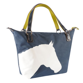 Julie Tote with Horse Design - Scratch, Dent and Closeout