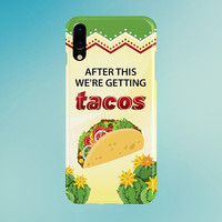 After This, We're Getting Tacos Phone Case, iPhone 8, iPhone 7s Plus, Tough iPhone Case, Galaxy s8, Samsung Galaxy s8 Plus, Food Quotes