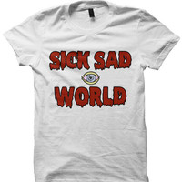 Sick Sad World T Shirt - Daria T-shirt Tee Tshirt - Grunge Punk 90s Nineties MTV Shirt