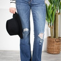 Dear John Rosie Flare Cut Denim