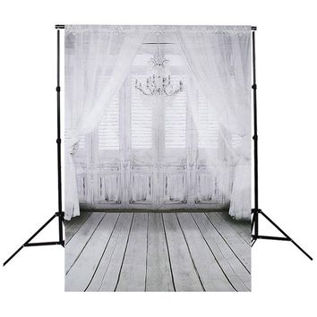 Grain Wall Floor Retro Window Photography Background For Studio Photo Props Photographic Backdrops cloth 90 x 150cm  light