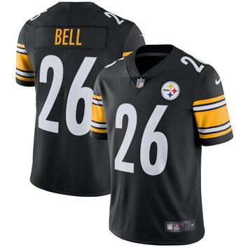 Men's Pittsburgh Steelers Ben Roethlisberger Nike Black Vapor Untouchable Color Rush Limited Player Jersey