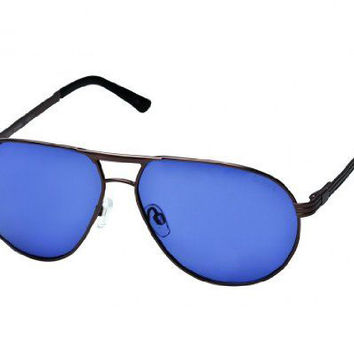 Le Specs Pool Shark Antique Copper Sunglasses