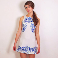 White China Dress - back in stock