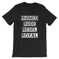 Royal breed Unisex short sleeve t-shirt