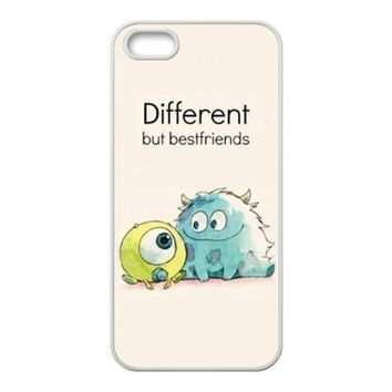Monsters inc University Series & Sully & Mike Phone case For Iphone 4 4S 5 5S 5C 6 6s 6PLUS hwd tqi