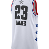 2019 NBA ALL STAR GAME LEBRON JAMES SWINGMAN JERSEY- WHITE