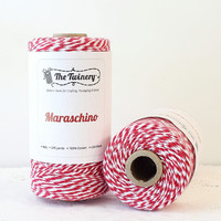 Bakers Twine, Red Twine, Red Bakers Twine, Christmas Twine, Red String, Holiday Twine, Mason Jar Twine, Tags, Gift Packaging, 240 Yards