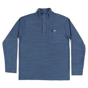 FieldTec™ Contour Pullover in Washed Navy by Southern Marsh