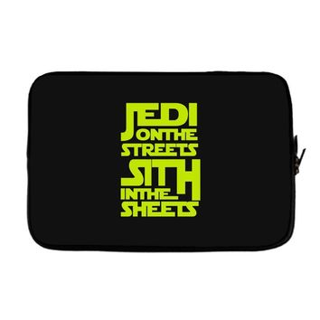 Jedi On The Streets Sith In The Sheets Laptop sleeve