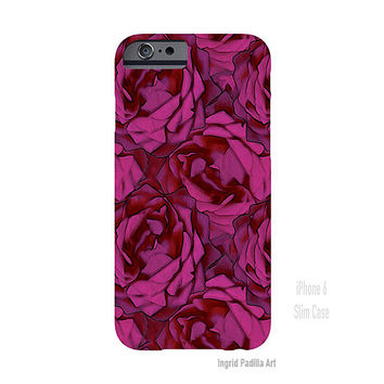 Roses, iPhone 6 Case, iPhone5 Case, roses, Floral, Art on iPhone cases, by Ingrid, iPhone 5S case, iPhone 6 Plus Case