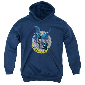 Batman - In The Crosshairs Youth Pull Over Hoodie