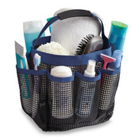 Mesh Shower Tote - Blue
