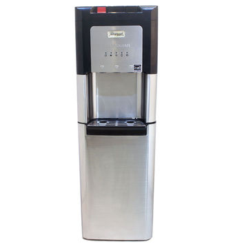 Whirlpool Automatic Self Cleaning Hidden Bottle Water Cooler, Stainless Steel