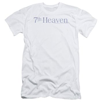 7 Th Heaven - 7 Th Heaven Logo Short Sleeve Adult 30/1