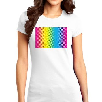 CMY Graphic Rainbow Juniors T-Shirt