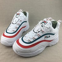 Folder X Fila Ray Woman Men Fashion Sneakers Sport Shoes