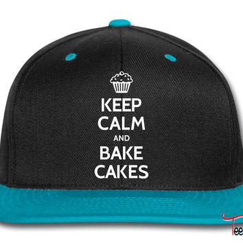 Keep calm and bake cakes Snapback