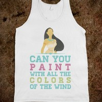 The Colors of The Wind (Tank)