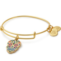 Calavera Color Infusion Charm Bangle